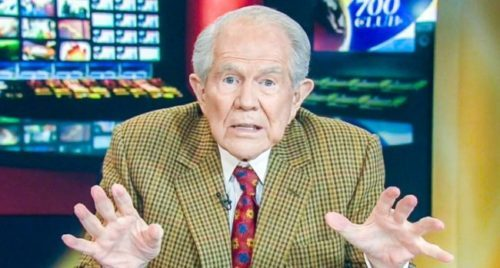 Pat Robertson: Opposition to Trump Is Revolt against God; to which we say, You're Out of your Fucking Mind!