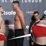 Everyone is Distracted by Boxer's Huge Bulge During Weigh-In