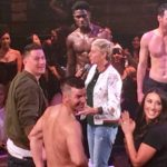 "WATCH: Ellen and Channing Tatum visit ""Magic Mike LIVE"" in Las Vegas!"