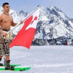 Rio's Tongan, Olympic Stud, Pita Taufatofua competing in Winter Games