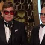 """Rocketman's """"I'm Gonna Love Me Again"""" wins the Golden Globe marking a First for Elton John and Bernie Taupin"""
