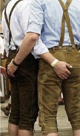 Gay lederhosen Lederhosen for